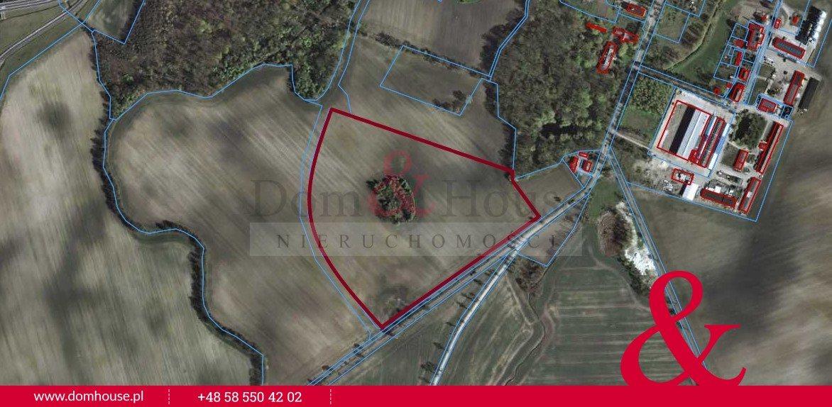 Działka przemysłowo-handlowa na sprzedaż Smętowo Graniczne  104845m2 Foto 2