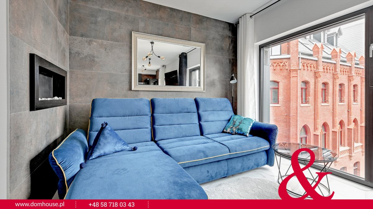 Mieszkanie dwupokojowe na wynajem Gdańsk, Śródmieście, Kotwiczników  35m2 Foto 5