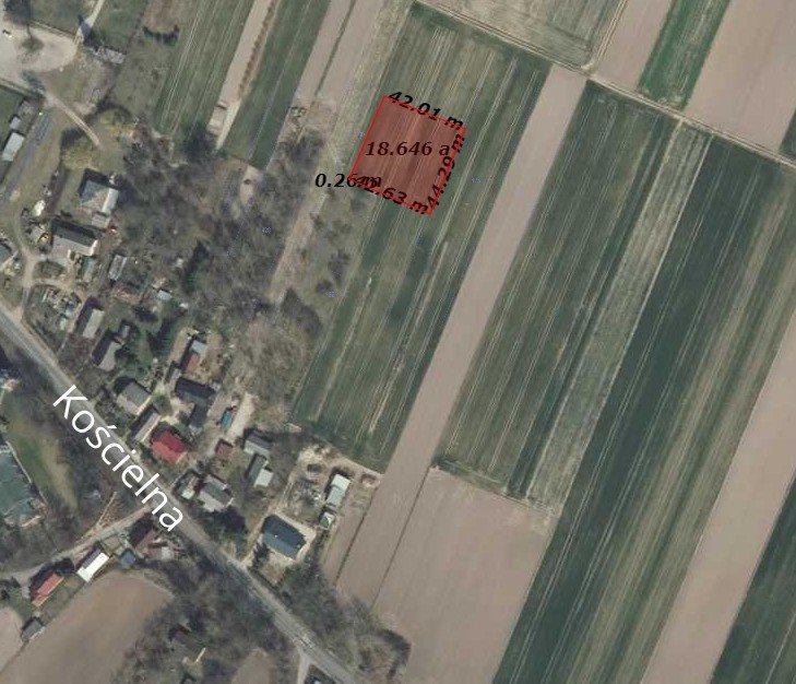 Działka budowlana na sprzedaż Tyszowce, Kościelna  1840m2 Foto 1