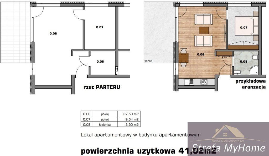 Mieszkanie dwupokojowe na sprzedaż Dziwnówek, Nad Zalewem  41m2 Foto 5