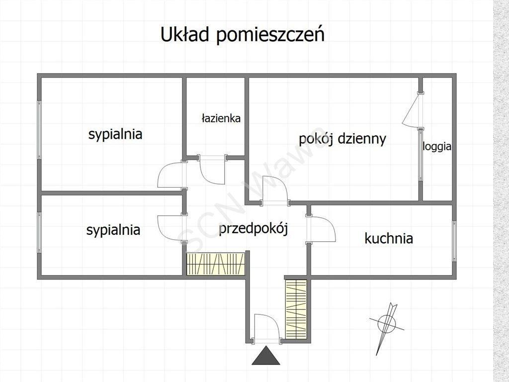 Mieszkanie trzypokojowe na sprzedaż Warszawa, Targówek, Krasnobrodzka  57m2 Foto 1