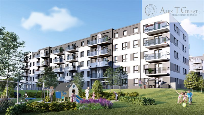 Mieszkanie czteropokojowe  na sprzedaż Gdańsk, Łostowice, Niepołomicka  61m2 Foto 1