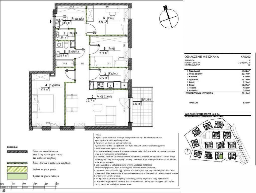 Mieszkanie czteropokojowe  na sprzedaż Wrocław, Psie Pole, Kwidzyńska  79m2 Foto 2
