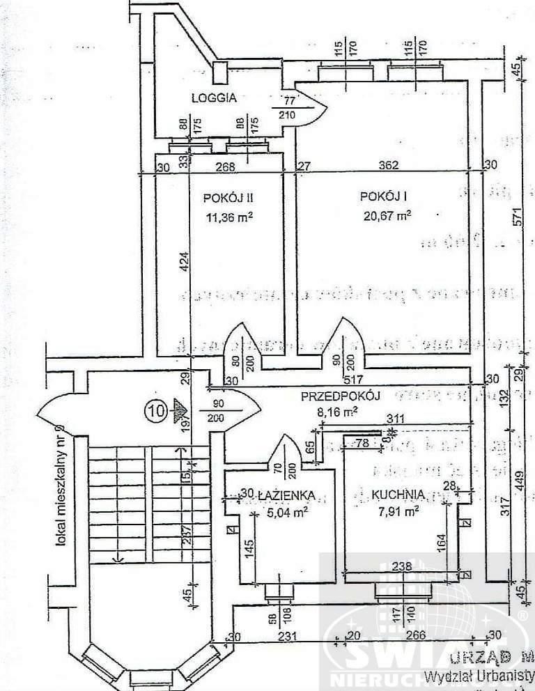 Mieszkanie dwupokojowe na sprzedaż Szczecin, Wały Chrobrego, Szarotki  53m2 Foto 1