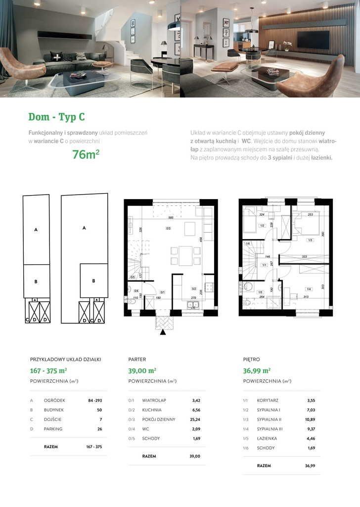 Dom na sprzedaż Koziegłowy  76m2 Foto 9