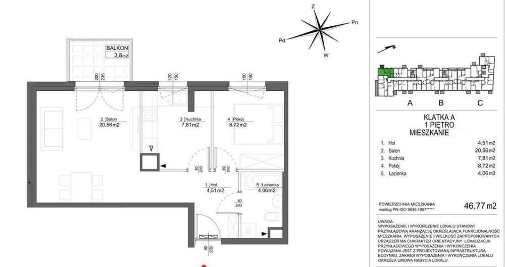 Mieszkanie dwupokojowe na sprzedaż Poznań, Malta  47m2 Foto 2