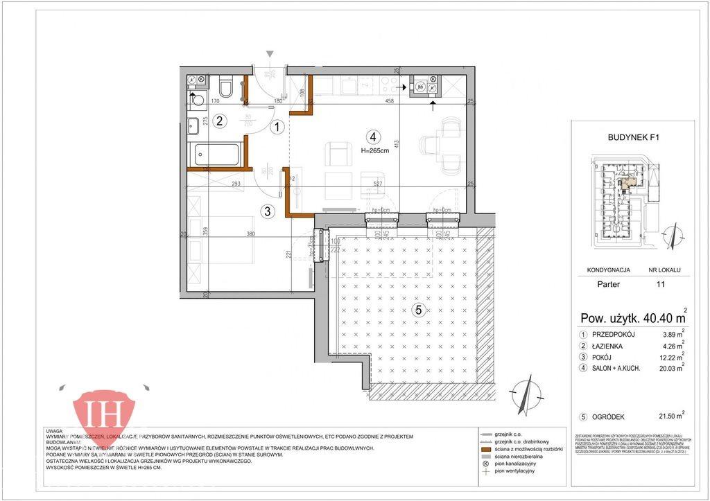 Mieszkanie dwupokojowe na sprzedaż Warszawa, Rembertów, Chełmżyńska  40m2 Foto 3