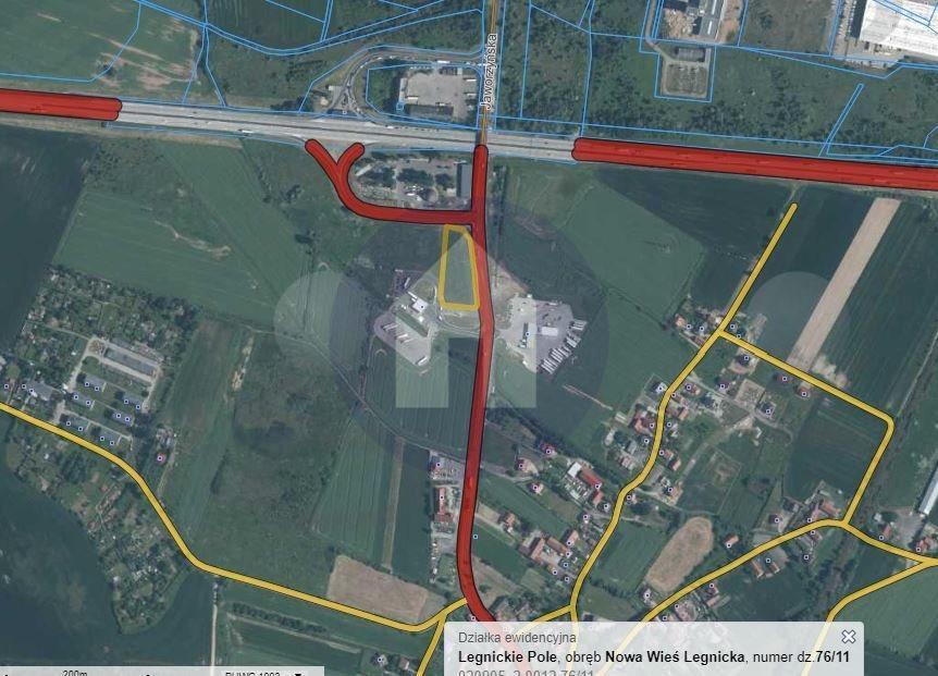 Działka komercyjna na sprzedaż Nowa Wieś Legnicka  5100m2 Foto 2