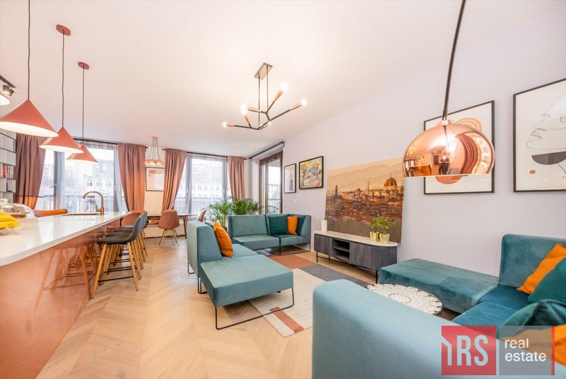 Mieszkanie trzypokojowe na sprzedaż Warszawa, Wola, Krochmalna  81m2 Foto 3