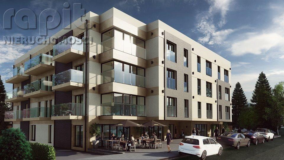 Mieszkanie dwupokojowe na sprzedaż Myślenice  39m2 Foto 1