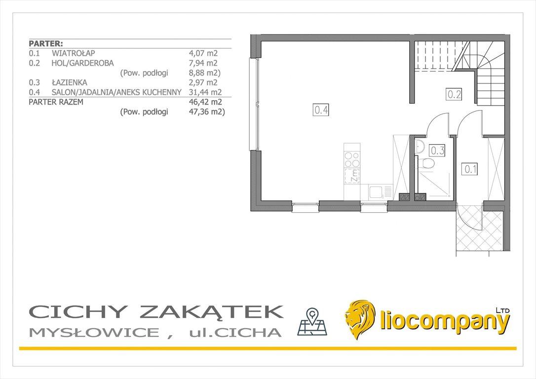 Mieszkanie na sprzedaż Mysłowice, Morgi, Cicha  128m2 Foto 6