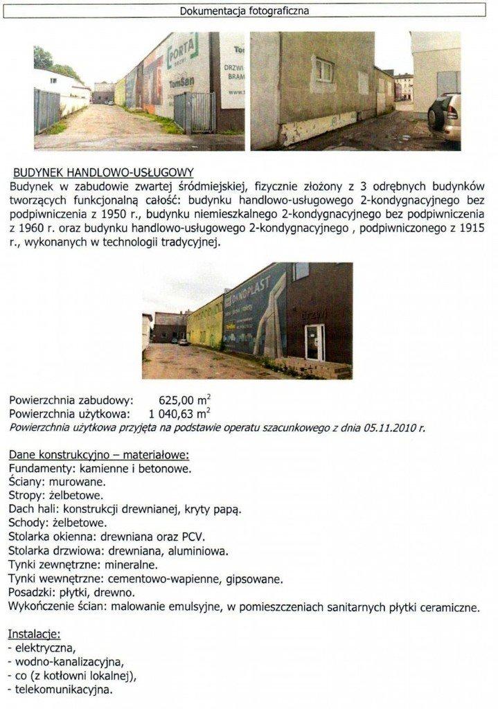 Lokal użytkowy na sprzedaż Słupsk  1041m2 Foto 1