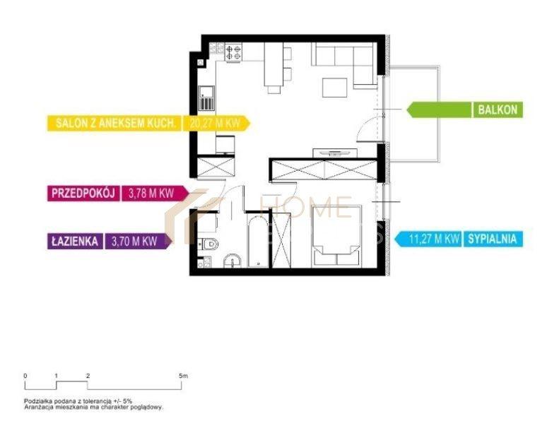Mieszkanie dwupokojowe na sprzedaż Gdynia, Obłuże, Bosmańska  39m2 Foto 2