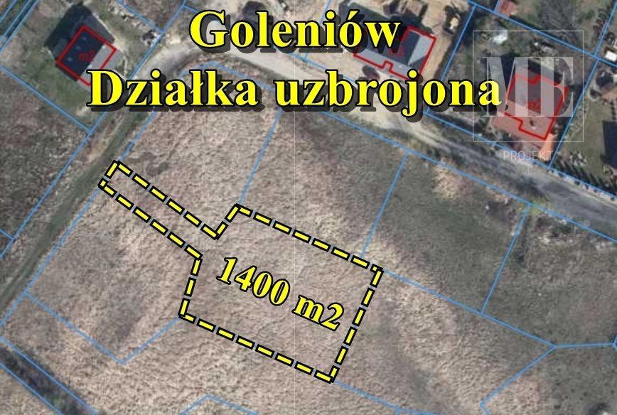 Działka budowlana na sprzedaż Goleniów  1400m2 Foto 1