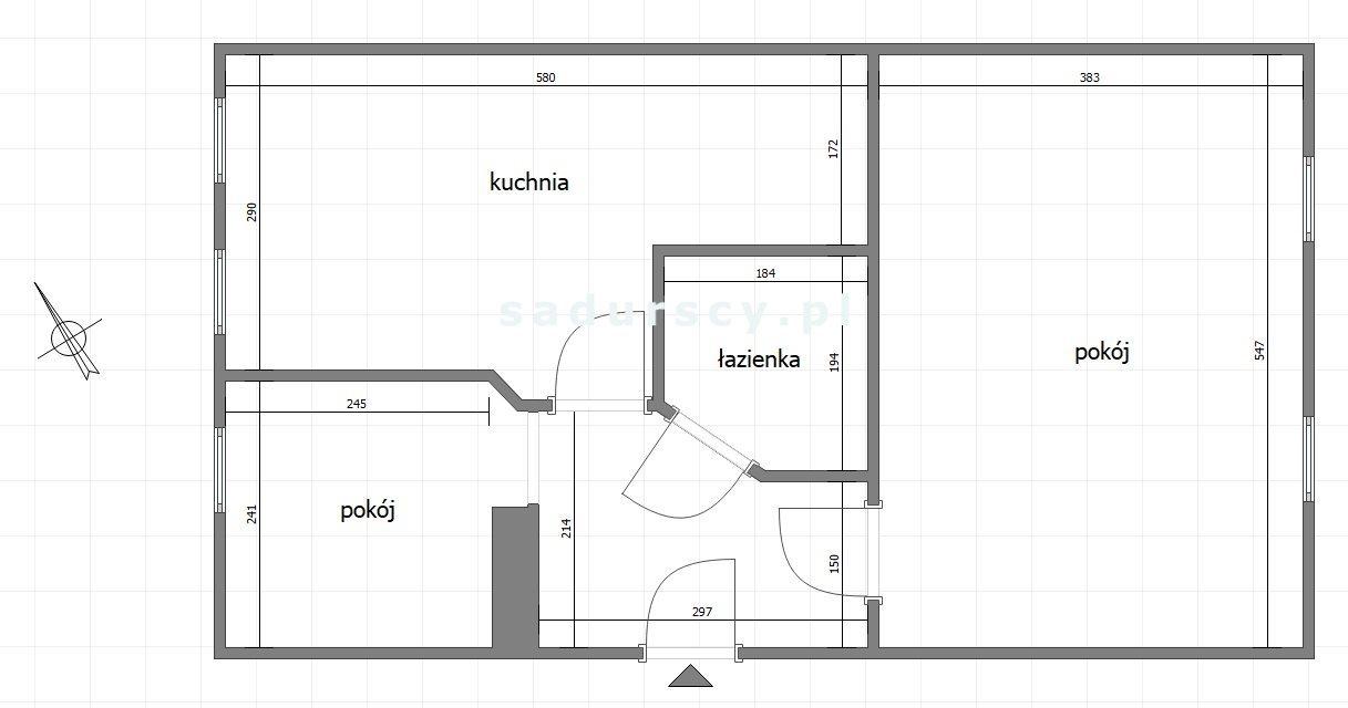 Mieszkanie dwupokojowe na wynajem Kraków, Dębniki, Ruczaj, Szuwarowa  42m2 Foto 3