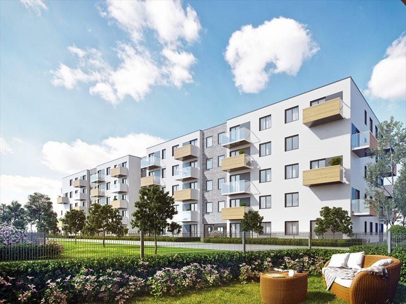 Mieszkanie dwupokojowe na sprzedaż Poznań, Naramowice, Karpia Naramowicka Sielawy Rubież Dworska Sarmacka  53m2 Foto 1