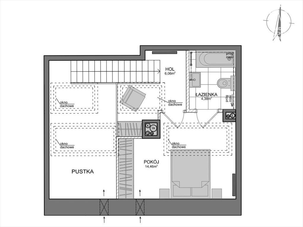 Mieszkanie dwupokojowe na sprzedaż Gdańsk, Wrzeszcz, Adama Mickiewicza  69m2 Foto 6