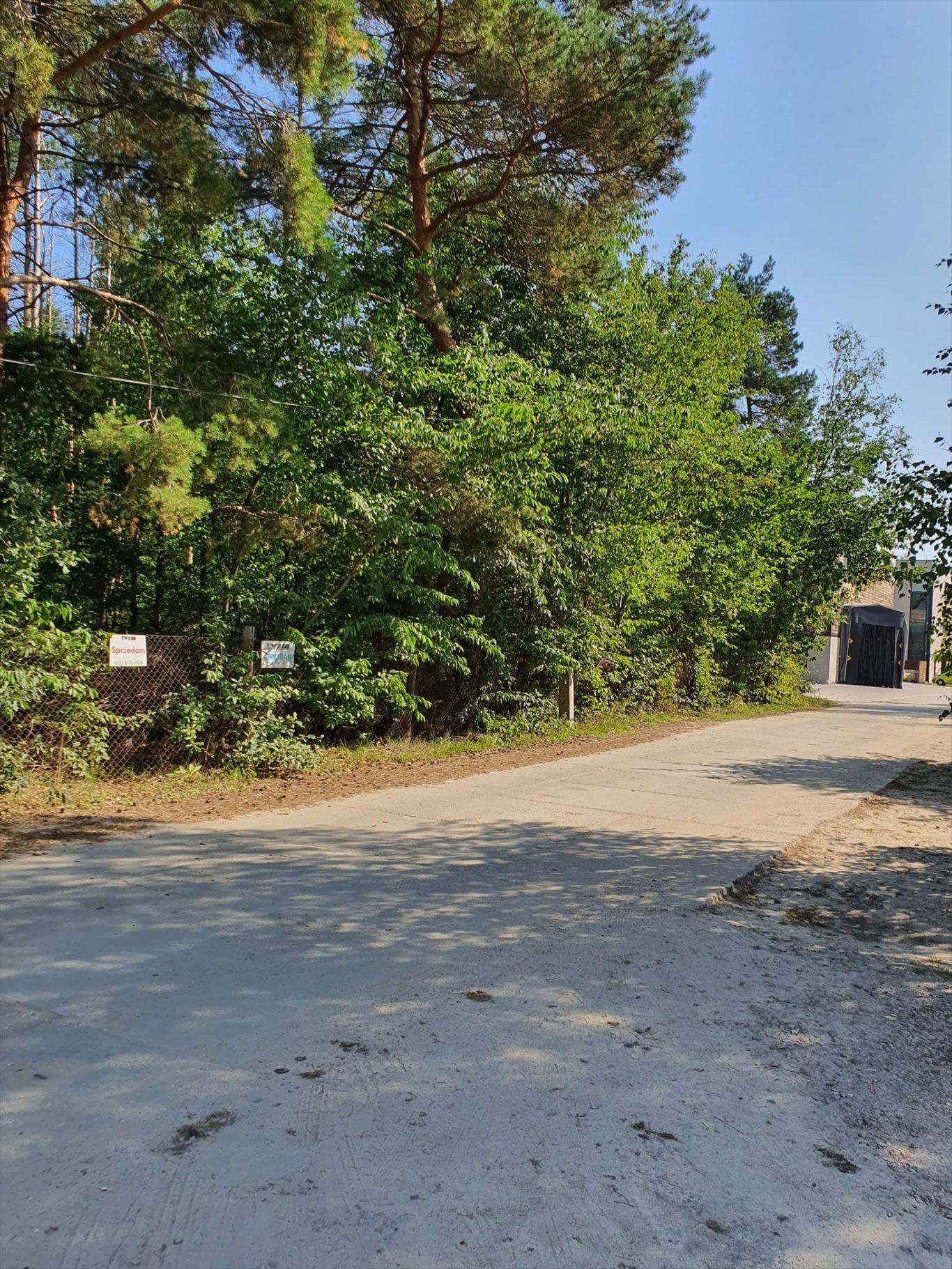 Działka przemysłowo-handlowa na sprzedaż Józefów, Graniczna  1238m2 Foto 3
