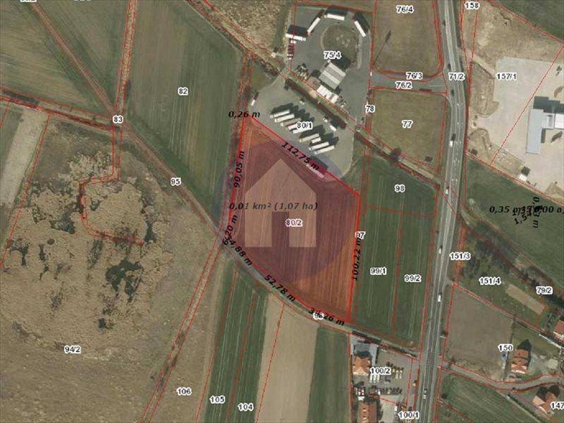 Działka przemysłowo-handlowa na sprzedaż Nowa Wieś Legnicka  10262m2 Foto 3