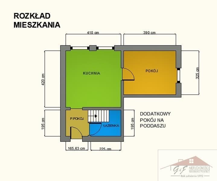 Mieszkanie dwupokojowe na sprzedaż Jarosław  49m2 Foto 9