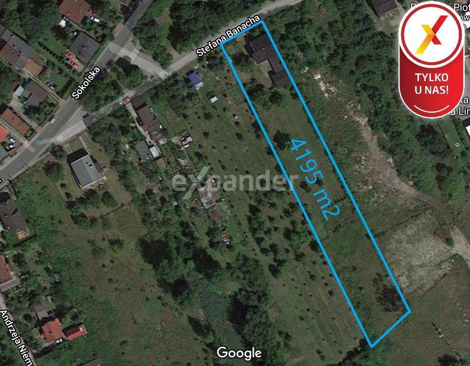 Działka budowlana na sprzedaż Sosnowiec, Sokolska  4195m2 Foto 1