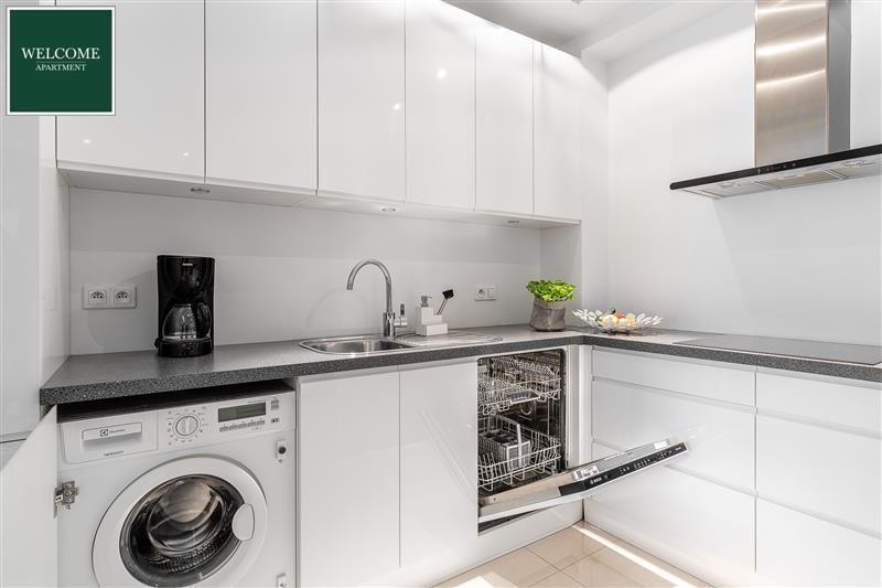 Mieszkanie dwupokojowe na sprzedaż Gdańsk, Śródmieście, WaterLane, SZAFARNIA  54m2 Foto 8