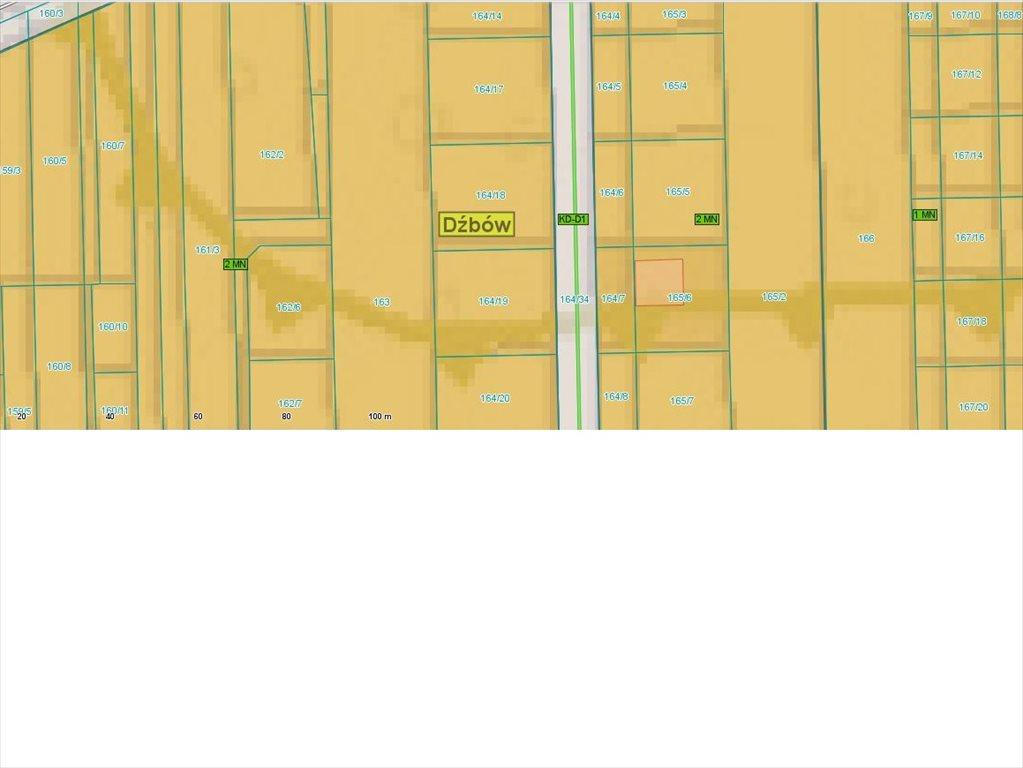 Działka budowlana na sprzedaż Częstochowa, Dźbów  717m2 Foto 4