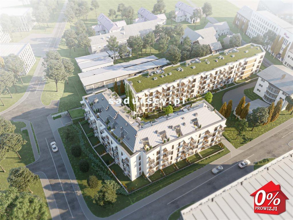 Mieszkanie dwupokojowe na sprzedaż Kraków, Podgórze, Zabłocie, Dekerta - okolice  47m2 Foto 1