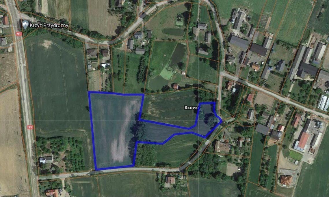 Działka rolna na sprzedaż Bzowo  19160m2 Foto 2