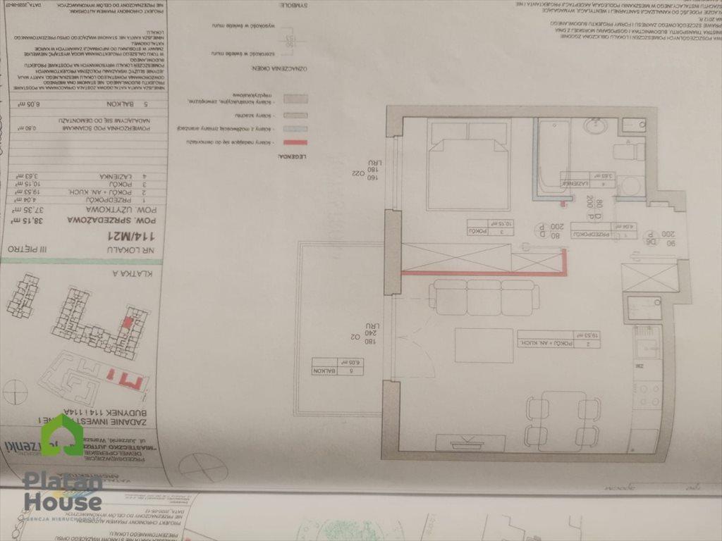 Mieszkanie dwupokojowe na sprzedaż Warszawa, Włochy, Jutrzenki  38m2 Foto 3