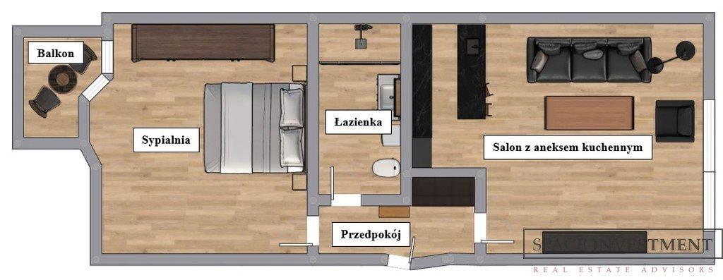 Mieszkanie dwupokojowe na wynajem Wrocław, Stare Miasto, Krawiecka  62m2 Foto 13