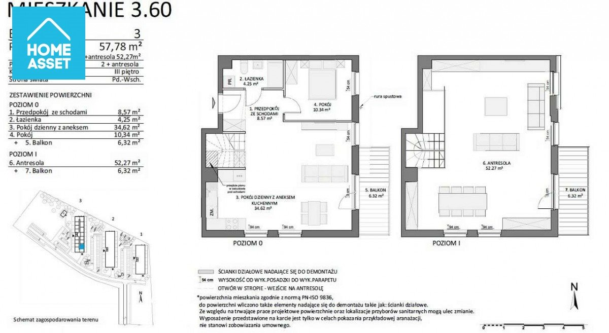Mieszkanie trzypokojowe na sprzedaż Gdańsk, Chełm, Pastelowa  106m2 Foto 9