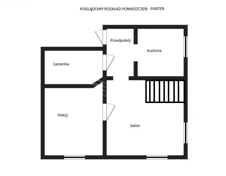 Mieszkanie czteropokojowe  na sprzedaż Pabianice, Dwupoziomowe mieszkanie w spokojnej okolicy  76m2 Foto 8