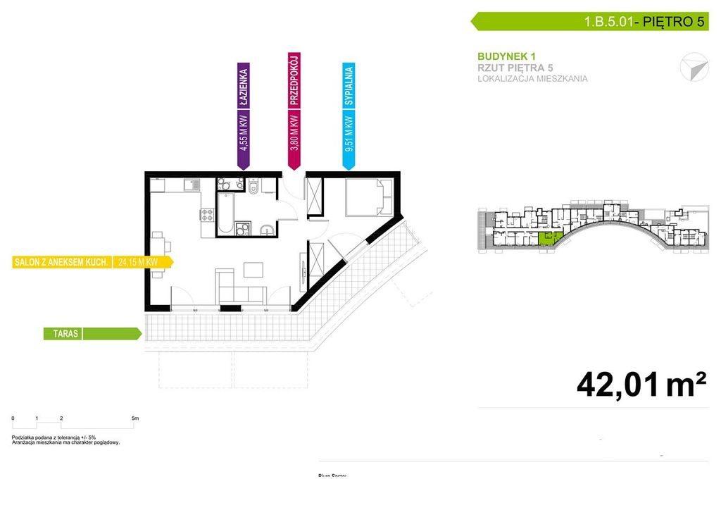 Mieszkanie dwupokojowe na sprzedaż Poznań, Chartowo, Chartowo, abp. Walentego Dymka  42m2 Foto 5