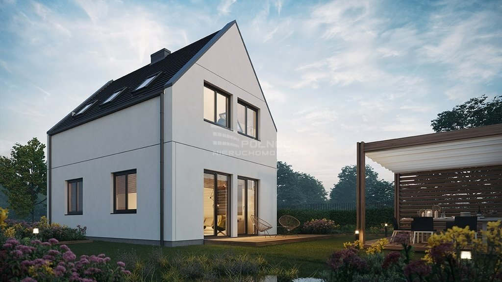 Dom na sprzedaż Pabianice, Nowy dom 88 m2 w stanie deweloperskim  88m2 Foto 2