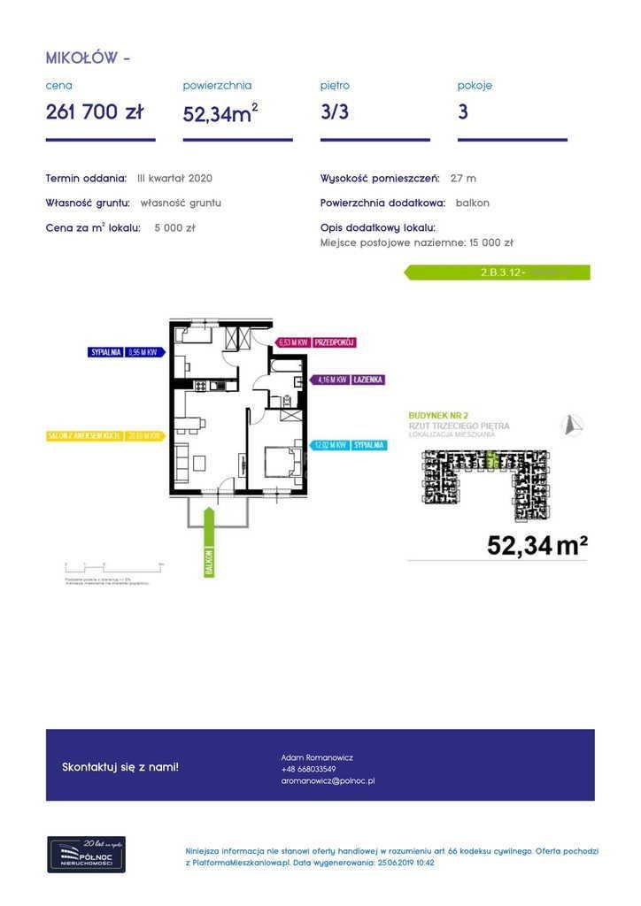 Mieszkanie dwupokojowe na sprzedaż Mikołów, storczyków  34m2 Foto 7