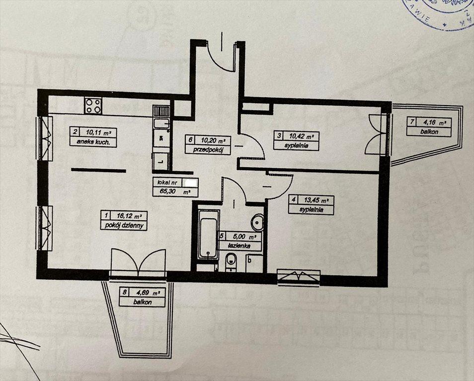 Mieszkanie trzypokojowe na sprzedaż Warszawa, Żoliborz  65m2 Foto 9