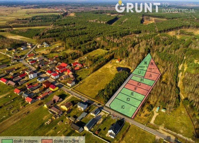 Działka budowlana na sprzedaż Dąbrowa Zielona  750m2 Foto 2