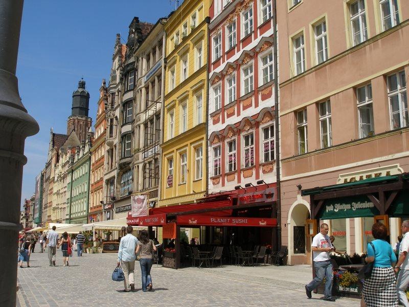 Mieszkanie dwupokojowe na wynajem Wrocław, Stare Miasto, Rynek  65m2 Foto 9