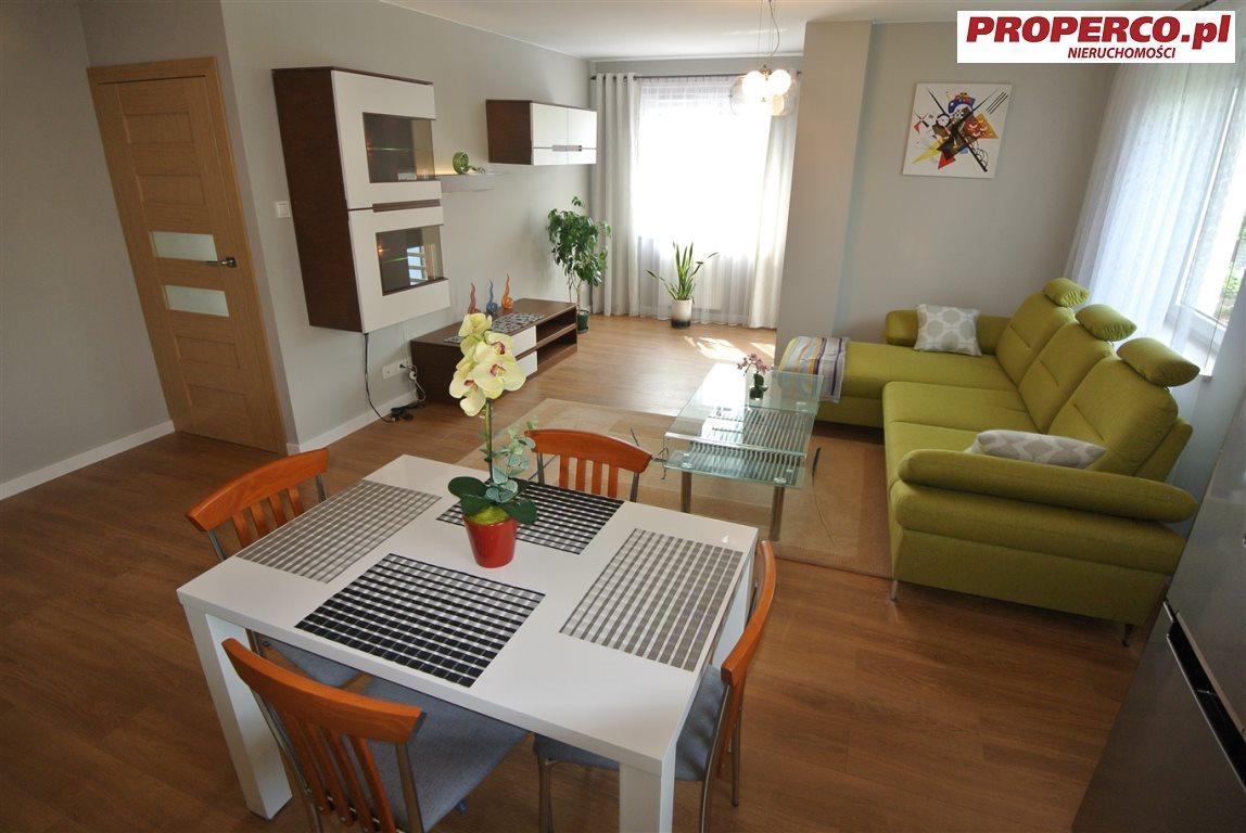 Mieszkanie dwupokojowe na wynajem Kielce, Centrum, Okrzei  58m2 Foto 2