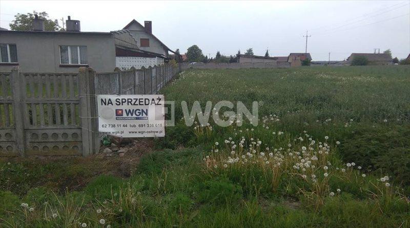 Działka budowlana na sprzedaż Ostrów Wielkopolski, Świeligów, Świeligów  921m2 Foto 1