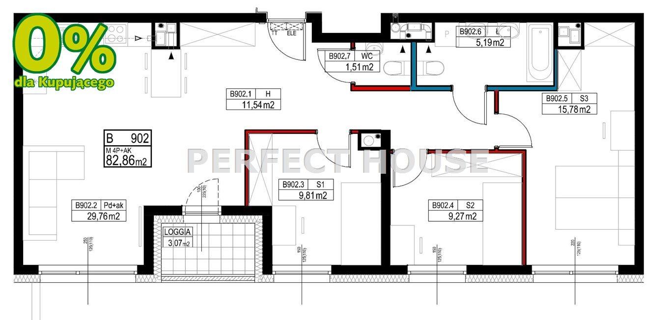 Mieszkanie czteropokojowe  na sprzedaż Poznań, Grunwald  85m2 Foto 11