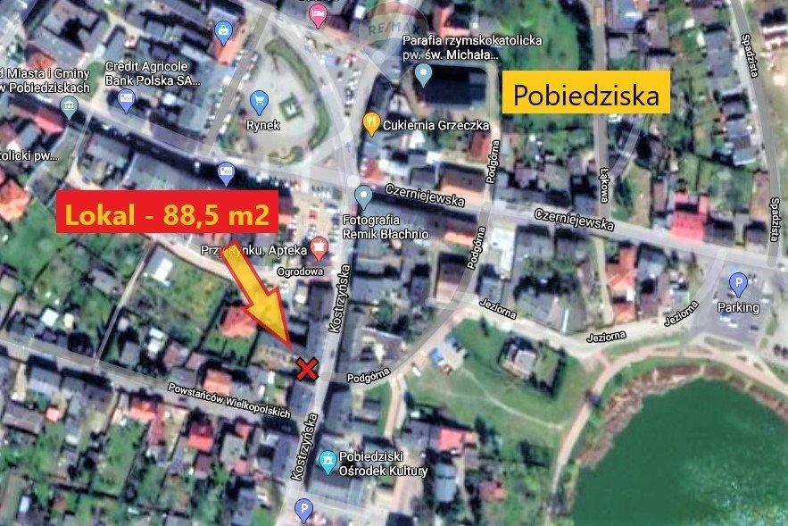 Lokal użytkowy na sprzedaż Pobiedziska, Kostrzyńska  89m2 Foto 5