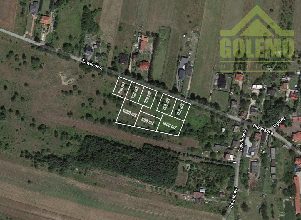 Działka budowlana na sprzedaż Częstochowa, Zawilcowa  760m2 Foto 1