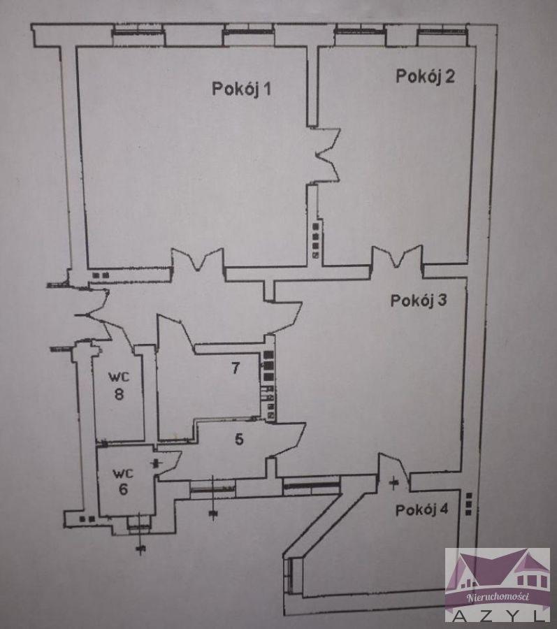 Mieszkanie czteropokojowe  na wynajem Bydgoszcz, śródmieście  134m2 Foto 1