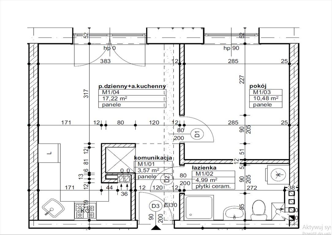Mieszkanie dwupokojowe na sprzedaż Nowy Tomyśl, Glinno, Glinno 245  36m2 Foto 13