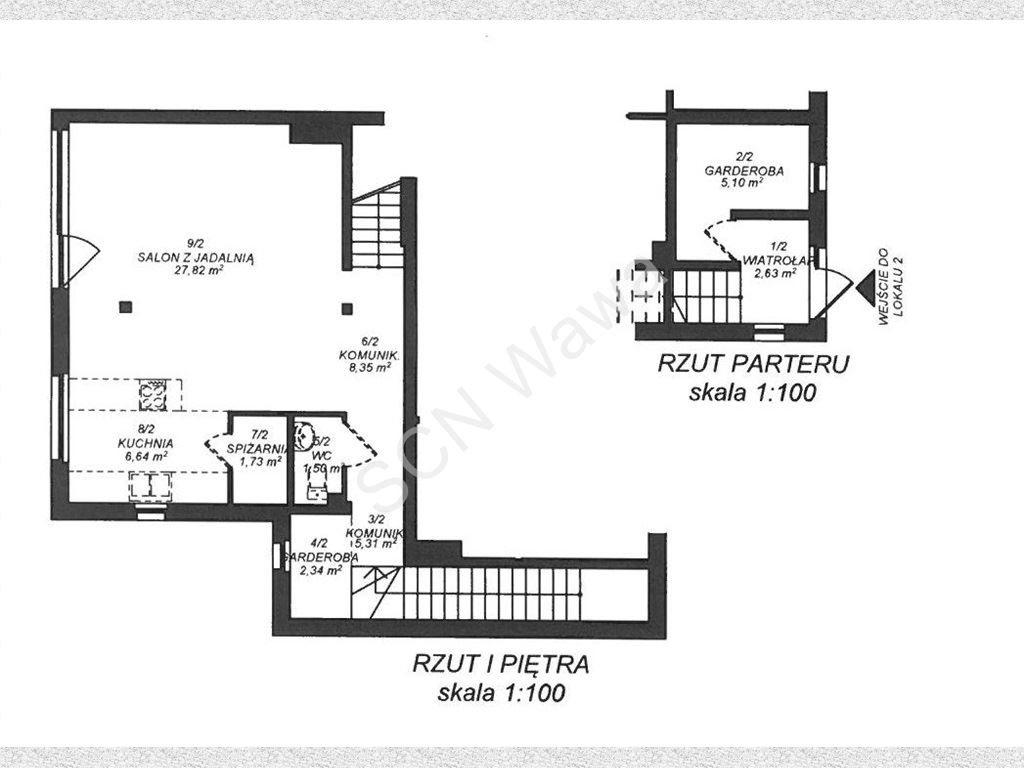 Mieszkanie czteropokojowe  na sprzedaż Łomianki, Łąkowa  123m2 Foto 3