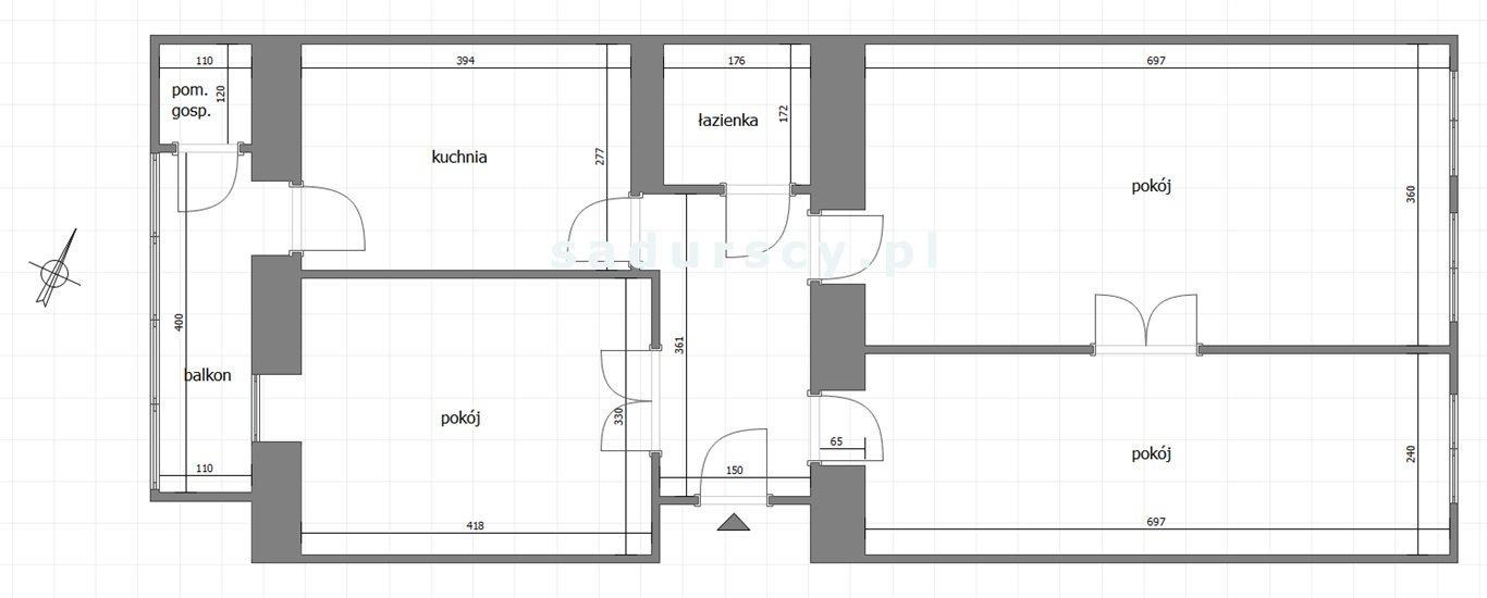 Mieszkanie trzypokojowe na sprzedaż Kraków, Stare Miasto, Kleparz, Długa  80m2 Foto 3