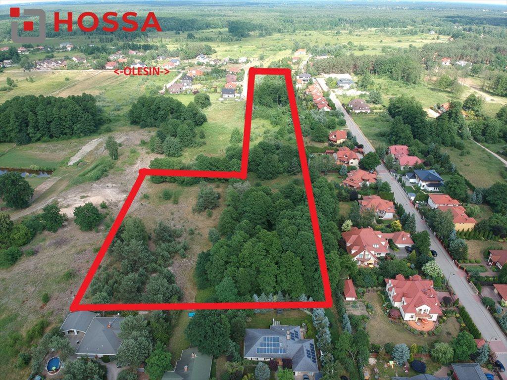 Działka budowlana na sprzedaż Warszawa, Białołęka Kobiałka, Olesin  31437m2 Foto 3