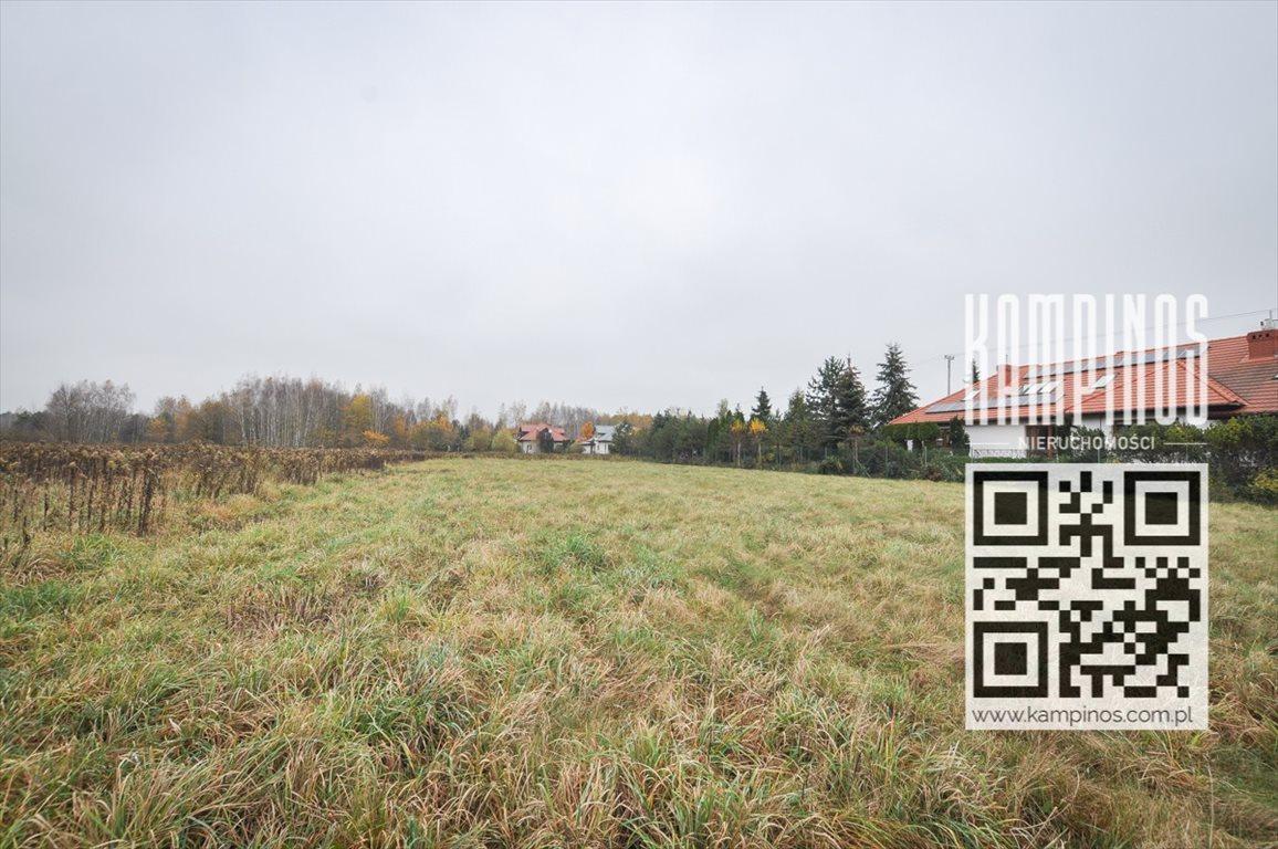 Działka budowlana na sprzedaż Borzęcin Duży, Stare Babice, oferta 2906  1100m2 Foto 1